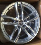 Алюминиевые оправы колеса; Колесо сплава автомобиля для Audi