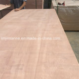 pente en bois dure rouge du marché D.C.A. de l'Europe de contre-plaqué de face de 1250*2500mm