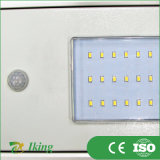 15W Solar Light con il LED per Outdoor Lighting (con il sensore umano)