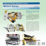 السلسلة 3 في 1 مضاعفات مستقيم المغذية للطاقة الصحافة آلة MAC4-F