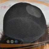 per la parrucca piena del merletto dei capelli umani degli uomini 100%