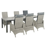 Outdoor-Rattan Dining Set
