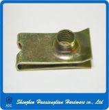 Écrou d'agrafe galvanisé par acier de ressort