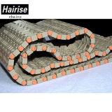 Correia Chain plástica do transporte da parte superior lisa para o fabricante do pneu (Har5935)