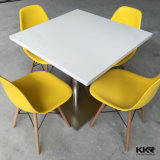 Blanco Solid Surface Moldeado Modern Hotel Table / Contador Diseño