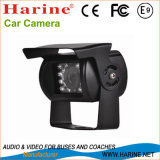 手段の監視の背面図車のデジタルカメラ