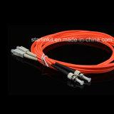 Sc к шнуру заплаты оптического волокна режима St Om2 мультимодному