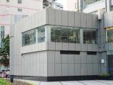 25mm Aluminiumbienenwabe-Panel-Zwischenwand-Fassadenelemente