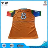 Your Artwork로 주문 Sublimation Rugby 저어지