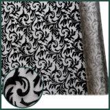 Черное New Style Flocking Nylon Fabric для Shoes