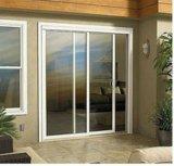 Двойная стеклянная алюминиевая дверь