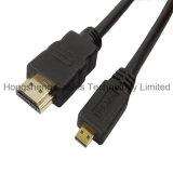 Micro cabo do PVC de HDMI M/M com bolha