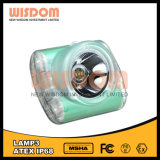 Lámpara de minero larga del tiempo de trabajo de la sabiduría 60h. Luces con de calidad superior