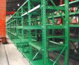 Rack de armazenamento deslizante de aço inoxidável
