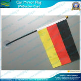 Car Window 또는 Wall (J-NF24F03006)를 위한 플라스틱 Suction Sucker Mini Flag