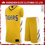 2016 Custom Logo Designs Uniforme de baloncesto reversible