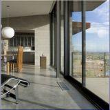Ventana de aluminio del marco de la rotura termal revestida popular del polvo para el edificio comercial y residencial