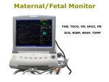 La ISO del Ce aprobó 12 el monitor fetal multi Nst Ctg de Fhr Toco FM del parámetro de la pulgada que detectaba gemelos del movimiento fetal del feto a solos Opcionales-Maggie