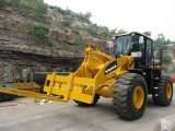 5000kg Load Strong Wheel Loader (HQ956) voor Construction