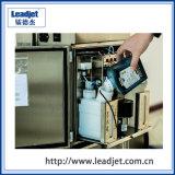 Imprimante continue de code en lots de jet d'encre de sachet en plastique de couleur simple de Leadjet