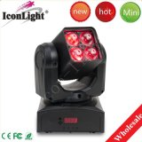 New 4X10W Zoom Bee Moving Head Light para Disco DJ