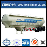 Eixo Cimc 3 reboque do tanque do cimento do volume de 50 toneladas