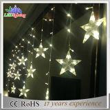 Luz do diodo emissor de luz da decoração do Natal da luz da corda da decoração do edifício