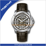 Уникально wristwatch воиска Mechancial шкалы