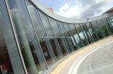 Paredes de cortina de aluminio de cristal del hotel del fuego del doble clasificado del proyecto
