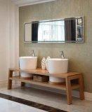 Gabinete de banheiro moderno espelhado do gabinete principal de madeira (JN-8814199)