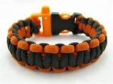 SpitzenPlastic Buckle Paracord Bracelet mit Logo Engraved