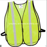 Maglia riflettente di sicurezza del cane della maglia di sicurezza dell'ispettore della maglia della rete del LED