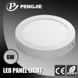 luz del panel superficial de 6W LED para de interior con el CE (PJ4036)