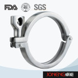Edelstahlgesundheitliche einzelne Pin-gemeinsame Schelle (JN-CL4008)