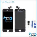 iPhone 5の5g液体の表示のための電話アクセサリLCDのタッチ画面