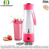 De populaire Plastic Elektrische Fles van de Schudbeker van het Fruit, de Vrije Plastic Fles van de Schudbeker van het Sap van de Draaikolk BPA (hdp-0699)