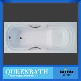 Vasca da bagno calda semplice acrilica europea Jr-B004/vasca da bagno di Commom