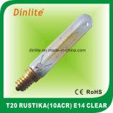 T20-10 (ACR) 40W 25W effacent l'ampoule de Rustika