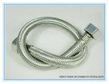 Boyau flexible en gros d'acier inoxydable dans la pipe de tuyauterie