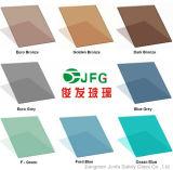 Vidro de flutuador matizado com verde/o cinzento/azul/bronze