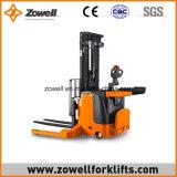 전기 Zowell 새로운 1.5 톤은 새로운 최대 5.5m 드는 고도를 가진 쌓아올리는 기계를 걸터앉는다