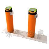 公共の自転車活気に満ちたオレンジ通常の鋼管の単一のロッカー
