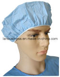 PVC Solo-Layer Shower Cap en Blue