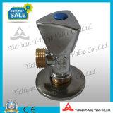 Vanne Globe en aluminium forgé en laiton (YD-F5021)