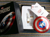 La Banca sottile di Captain America 3500mAh Power per Mobile Phone