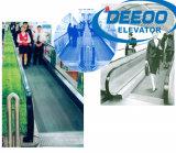 Untergrundbahn-Metro-Flughafen-Bürohaus-Rolltreppe