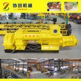 Machine de fabrication de briques allemande d'argile de technologie