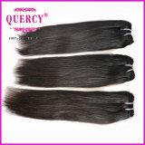 Le cheveu dessiné par double, usinent la qualité brésilienne de trame de cheveux humains