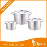 POT di alluminio Jp-Al03 stabilito del Cookware 3PCS