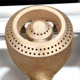 des Nettogewicht-3.2kg Bienenstock-Brenner-Tisch-Oberseite-Gas-Kocher des Roheisen-zwei in Ruanda (JP-GC206T)